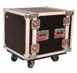 Case Rack 10U con Ruedas