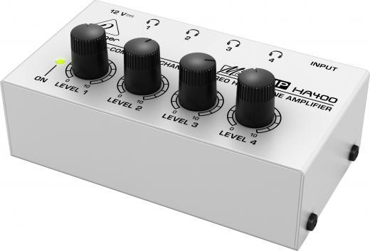 Amplificador de audifonos 4 Canales