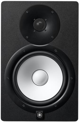 """Monitor de estudio bidireccional de 120 W de potencia, woofer de 8"""" y tweeter de 1"""", controladores de alto rendimiento y sistema de montaje"""