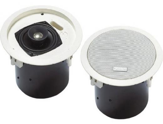 Parlante modular para montaje en techo, se puede utilizar en una amplia variedad de techos. Proporciona una reproducción excelente de voz y música en aplicaciones para interiores.