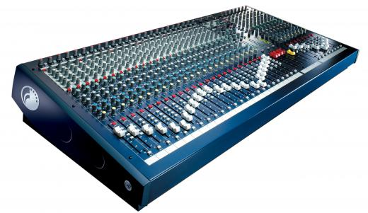 32 canales, 4 buses, estudio y en vivo, Pres de micrófono premium, Sección de ecualización rediseñada, Múltiples posibilidades de enrutamiento