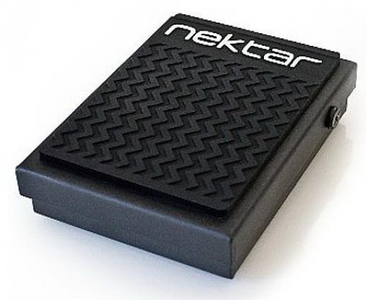 Pedal de pedal para teclado / piano digital con cable de 6 ', interruptor de inversión de polaridad y agarre de goma