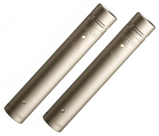 Micrófonos de condensador cardioide combinados de diafragma pequeño