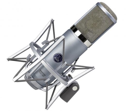 Micrófono multi-patron a tubo, ideal para voz principal, sonido valvular real, doble capsula de diafragma, circuito ECC83 doble triodo