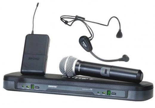 Sistema Inalambrico de Mano + Cintillo UHF