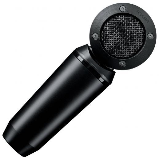 Micrófono de condensador con patrón polar cardioide y respuesta de frecuencia de 50Hz-20kHz