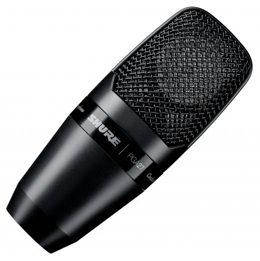Micrófono de condensador de diafragma grande con patrón polar cardioide y respuesta de frecuencia 20Hz-20kHz