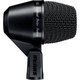 Micrófono dinámico con patrón polar cardioide y respuesta de frecuencia de 50Hz-12kHz, Micrófono dinámico optimizado para respuesta de baja frecuencia.