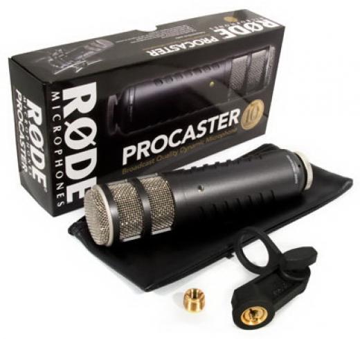Micrófono dinámico con conexión XLR, bajo ruido propio y patrón polar cardioide, Respuesta de frecuencia adaptada a la voz con filtro de paso alto