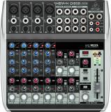Mezclador analógico de 12 entradas y 2 buses con ecualizador de 3 bandas e interfaz de audio USB