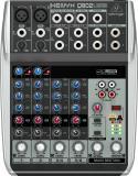Mezclador analógico de 8 entradas y 2 buses con ecualizador de 3 bandas e interfaz de audio USB