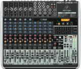 Mezclador de 16 entradas y 2/2 buses con faders de 60 mm, ecualizador de 3 bandas, efectos incorporados e interfaz de audio USB