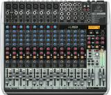 Mezclador de 22 entradas y 2/2 buses con faders de 60 mm, ecualizador de 3 bandas, efectos incorporados e interfaz de audio USB