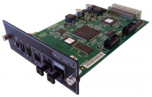 Tarjeta de interfaz digital para mezcladores de la serie Soundcraft Si con conectividad USB 2.0, FireWire y ADAT