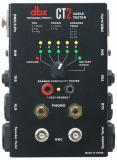 Testea conectores comunes, tales como cable altavoz, XLR, BNC, DIN, TRS, TS, DMX, y Banana, indicadores LED y un dial giratorio simple