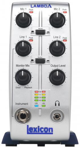 Interfaz de audio USB con 2 entradas de línea TRS/micrófono con phantom e inserts, MIDI, 24-bit/48kHz, Cubase LE y Phanteon Reverb incluídos - Mac/PC