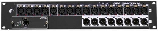 Caja de escenario digital 16x8 con opcion tarjeta MADI para Soundcraft Si Expression, Si Compact, Si Performer, Si Series y Vi Series Consoles