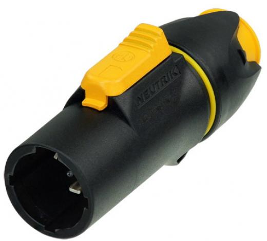 Bloqueo de conector macho del cable, terminales de tornillo, 16 A impermeable,  puede conectar o desconectar bajo carga o en vivo