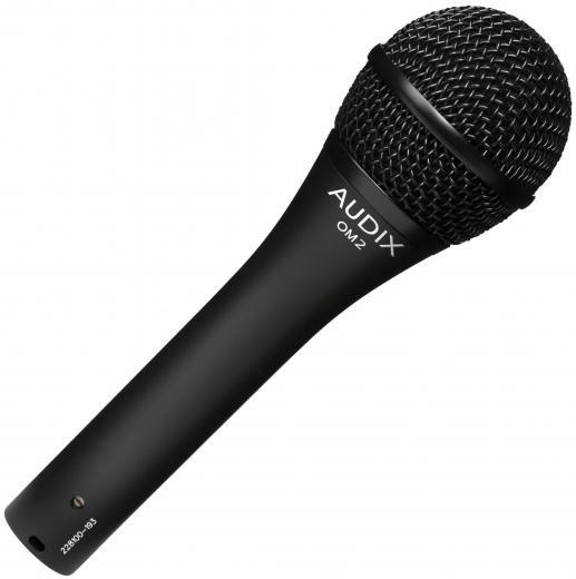 Micrófono de mano dinámico hipercardioide para voces e instrumentos, 140dB SPL, 50Hz - 16kHz, hecho en USA.