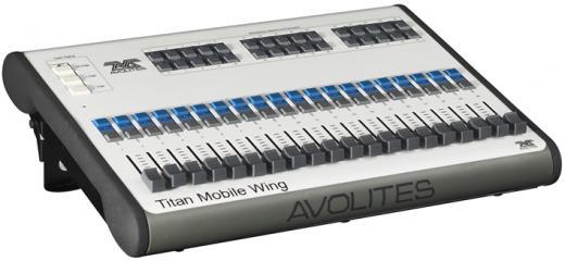20 Playbacks con controles asignables, 30 botones ejecutables y programables, Control de páginas y espacio de trabajo en Titan dedicado