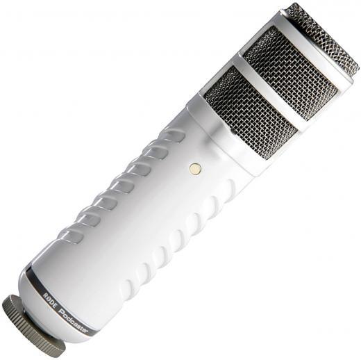 Micrófono dinámico USB de gran diafragma, basado en el diseño de Broadcaster, respuesta de frecuencia adaptada a la voz con filtro de paso alto