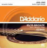 Set 6 Cuerdas Guitarra Acustica/Folk 10-50