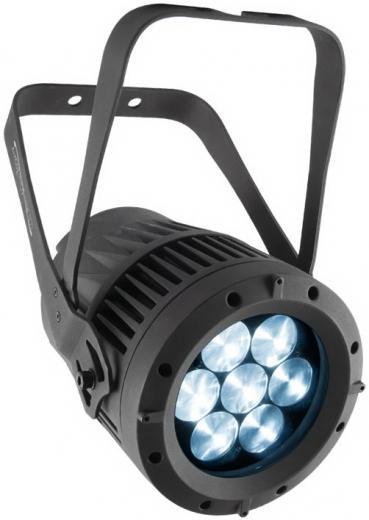 PAR de luz brillante WASH interior / exterior de color blanco variable con 7 Leds de 15 W Osram quad-LED con temperatura de color ajustable