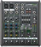 Mezclador compacto de 4 canales con efectos incorporados, Motor de efectos ReadyFX con 16 efectos que incluyen reverberaciones, delay y chorus