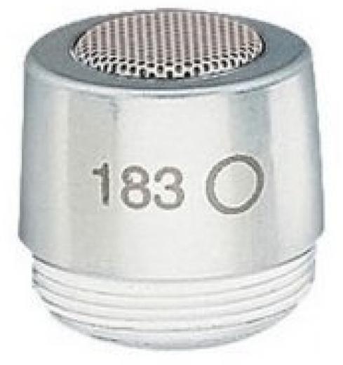 Capsula Omni para microfonos serie Microflex® MX183, MX202, MX391, MX392, MX393, MX405, MX410, MX415, MX412, MX418, y WL183.