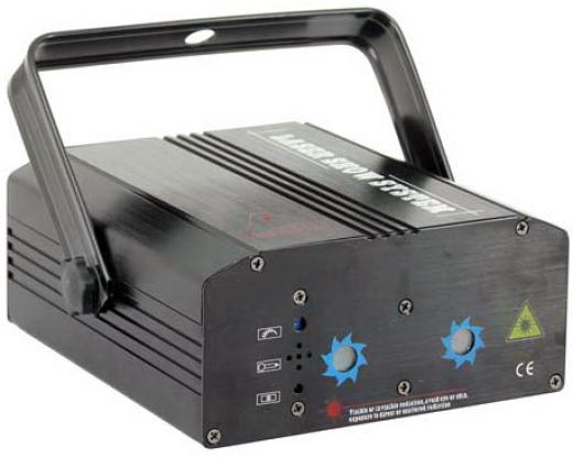 Laser Rojo/Verde/Azul 250mW