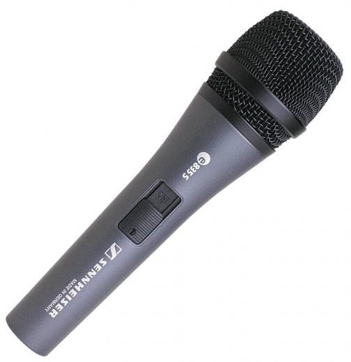 Micrófono vocal de mano dinámico cardioide con manejo de SPL de 150dB con interruptor de encendido / apagado
