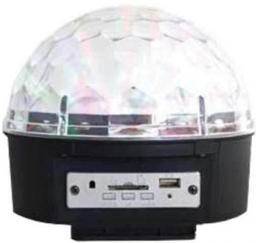 Efecto Led Crystal 6×1W RGBWAP