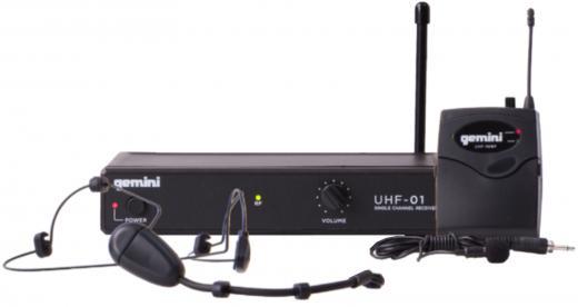 Inalámbrico de cintillo UHF, reproducción de voz de alta calidad, Transmisor: Rango de frecuencia: 500-950MHz