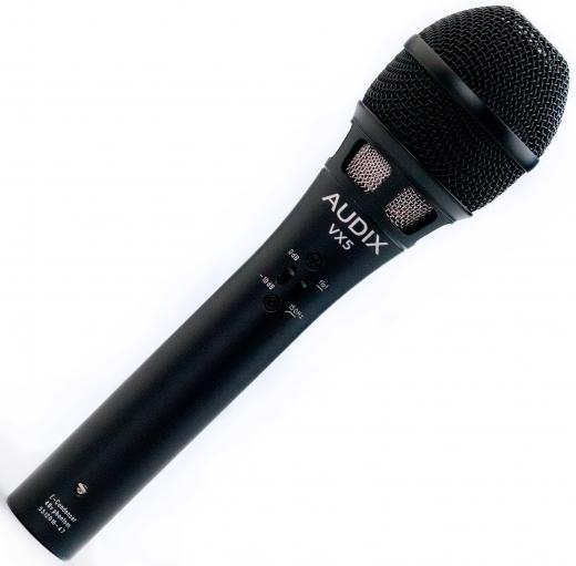 Micrófono de mano condensador supercardioide para voces e instrumentos acústicos. 140dB SPL, 40Hz - 16kHz, hecho en USA.